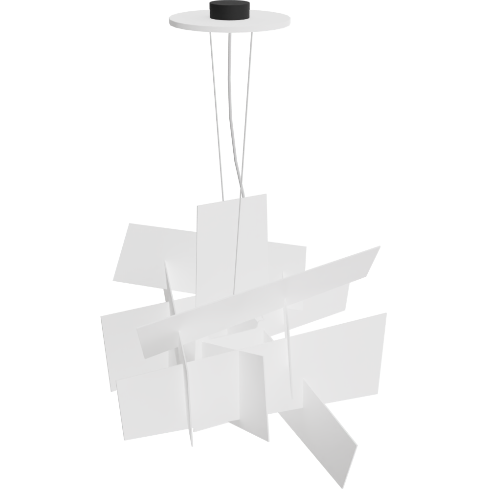 Free try out of Big Bang Pendant Lamp from Foscarini in 3D, VR and AR